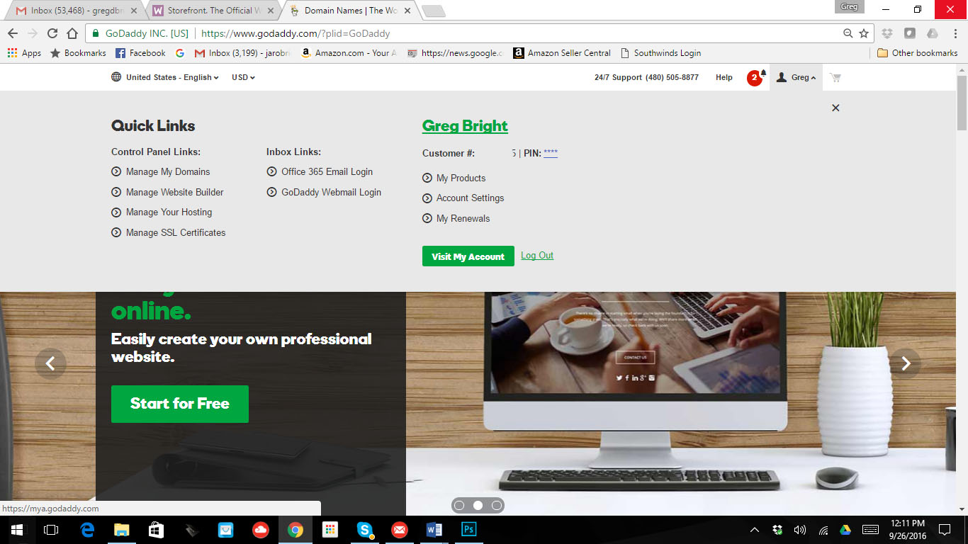 How To Install WordPress on a GoDaddy Hosted Website - Play Google's