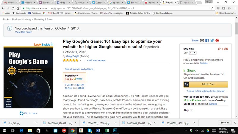 seo book lower amazon price